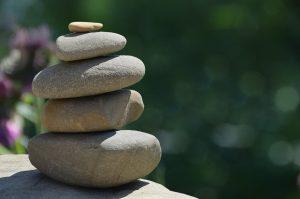 éléments jardin zen