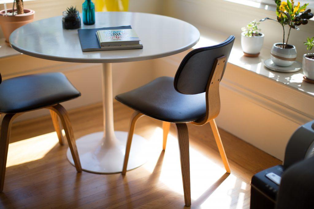 Petite table de salon au style scandinave